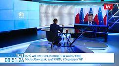 Protesty w Polsce. Morawiecki z dodatkową ochroną? Dworczyk odpowiada