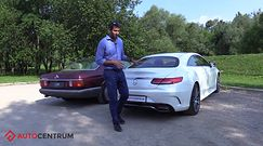 Mercedes-Benz 560 SEC kontra nowa Klasa S Coupe