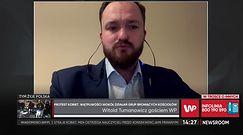 """Tumanowicz: """"Do Straży Narodowej zgłosiło się kilkanaście tysięcy osób"""""""