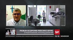 Jak przechowywać szczepionkę na grypę? odpowiada dr Paweł Grzesiowski