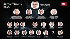 Mateusz Morawiecki przedstawił nowych członków rządu. Jest wśród nich Jarosław Kaczyński