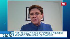 """""""Piątka dla zwierząt"""" podzieli Zjednoczoną Prawicę? Beata Szydło dostrzega argumenty Zbigniewa Ziobry"""