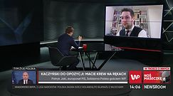 Jaki interpretuje słowa Kaczyńskiego i poucza dziennikarza WP