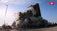 Wyburzanie miejskich kolosów. Potężna eksplozja
