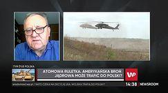 Potencjał nuklearny NATO. Ekspert o lokalizacji bomb w Polsce
