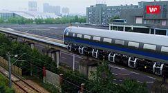 Chiński pociąg magnetyczny. Przekracza prędkość 600 km/h