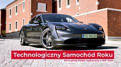 Porsche Taycan - Technologiczny Samochód Roku Wirtualnej Polski 2020 - prezentacja zwycięzcy