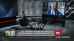 """Koronawirus. Stanisław Karczewski przyznaje, że są kłopoty ze szczepionkami. """"Sam nie kupiłem od razu"""""""
