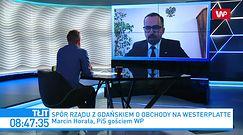 Spór o Westerplatte. Marcin Horała o Aleksandrze Dulkiewicz: nie wierzę w ciemno w prawdomówność pani prezydent