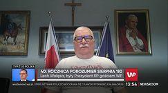 Porozumienie Sierpniowe. Lech Wałęsa: nie było czasu na demokrację i uzgadnianie