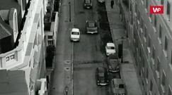 Zamach na premiera Hiszpanii w 1973 roku. Siła wybuchu przerzuciła samochód nad budynkiem