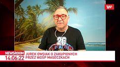 """Koronawirus. Jerzy Owsiak o wadliwych maseczkach z Chin. """"Nie tylko my zostaliśmy oszukani"""""""
