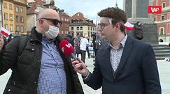 """Protest w Warszawie. """"Chodzi o wypłatę odszkodowań"""". Wobec demonstrujących użyto gazu pieprzowego"""