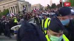 Protest przedsiębiorców. Policja szarpie dziennikarzy