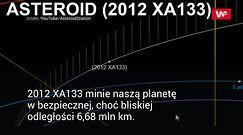 Asteroida zbliża się do Ziemi. NASA ostrzega