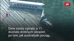 Katastrofa kolejowa w Australii. Relacje świadków są przerażające