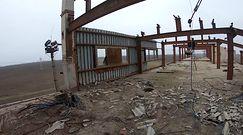 Naddniestrze. Opuszczona radziecka fabryka cegły