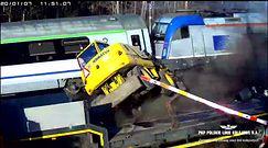 Sekundy od katastrofy. Nagranie wjazdu ciężarówki przed pociąg z Berlina