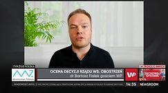 Bartosz Fiałek o luzowaniu obostrzeń: tutaj nie ma miejsca na świętowanie
