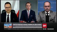 """Minister z PiS kontra poseł PO. """"Skompromitował się pan"""". Wybuchły emocje"""