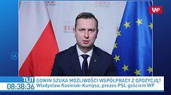 Donald Tusk szantażuje Jarosława Gowina? Reakcja Władysława Kosiniaka-Kamysza
