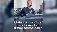 #dziejesiewsporcie: Kamil Glik wyglądał jak RoboCop
