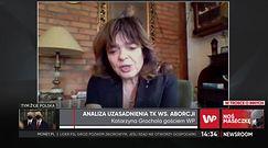 """Katarzyna Grochola o wyroku TK ws. aborcji: """"Nie godzę się na to"""""""