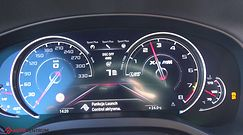 BMW X4 M Competition 3.0 510 KM (AT) - acceleration 0-100 km/h