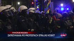 Strajk kobiet. Demonstracje pod Trybunałem Konstytucyjnym