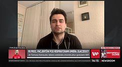 Dr Tomasz Karadua o rokowaniach u pacjentów podłączonych do respiratora