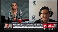 Elżbieta Piotrowska-Rutkowska: farmaceuci mogliby kwalifikować do szczepień