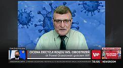Atak koronawirusa nie słabnie. O kościołach dr Grzesiowski mówił wprost
