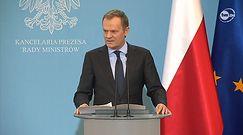 Donald Tusk ogłosił zmiany w rządzie