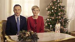 """Świąteczne życzenia od Andrzeja i Agaty Dudy: """"Pamiętajmy o przesłaniu Jana Pawła II"""""""