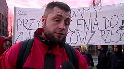 Protest związkowców z Polskiego Busa