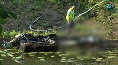 Kobieta i dziecko zginęli w pożarze motorówki