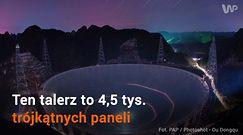 Oto największy na świecie radioteleskop! Imponująca aparatura Chińczyków gotowa do pracy