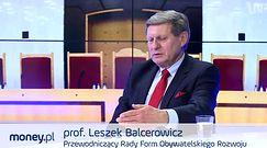 #dziejesienazywo: Balcerowicz o planie Morawieckiego