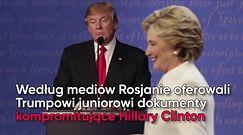 Kontakty syna Trumpa z Rosją. Tak się tłumaczy Donald Trump jr.