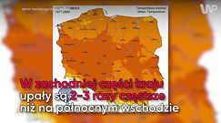 Pogodowa mapa Polski. Gdzie warto wypoczywać latem?