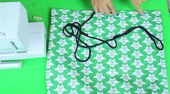 Modny plecak-worek w sowy – DIY