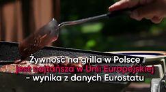 Polski grill najtańszy w Unii Europejskiej