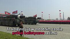 Korea Północna wystrzeliła rakietę w stronę Japonii