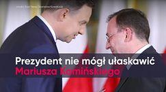 Andrzej Duda nie mógł ułaskawić Mariusza Kamińskiego. Wyrok Sądu Najwyższego