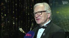 Orły 2017: Andrzej Seweryn o nagrodzie i przebraniu Donalda Trumpa