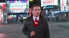 Wysłannik WP z USA Leszek Krawczyk na Times Square