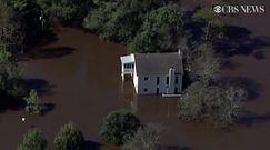 Powodzie w Karolinie Północnej po huraganie Matthew