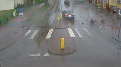 Potrącenie na przejściu dla pieszych w Łukowie