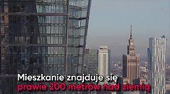 Najwyższe mieszkanie w UE na sprzedaż. Luksus w centrum Warszawy