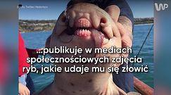 Rosyjski wędkarz wyławia podwodne potwory